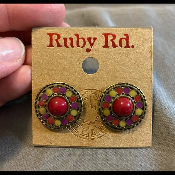 Ruby Rd. Jewelry - Ruby Rd. (multi color) earrings - new!